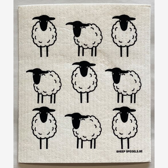 dishrag-9-sheep-blackwhite